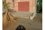 Строительство пандуса для гаража