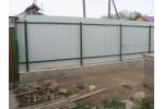 Строительство забора из профлиста в г. Александров